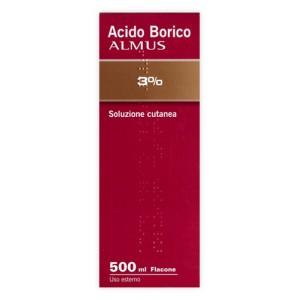 ACIDO BORICO ALM*3% 500ML