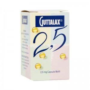 GUTTALAX*30CPS MOLLI 2,5MG