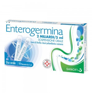 ENTEROGERMINA*OS 10FL 2MLD/5ML