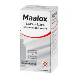 MAALOX*OS SOSP 200ML3,65+3,25%
