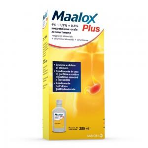 MAALOX PLUS*OS SOSP 4+3,5+0,5%