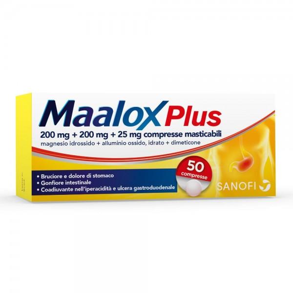MAALOX PLUS*50CPR MAST
