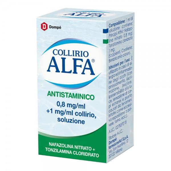 COLLIRIO ALFA ANTISTAM*10ML