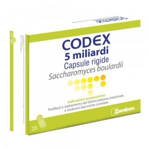 CODEX*20CPS 5MLD 250MG BLISTER