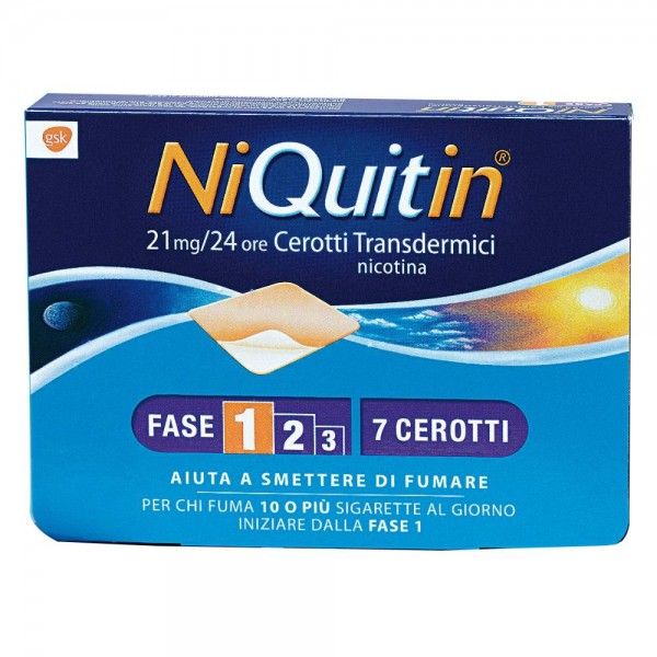NIQUITIN*7CER TRANSD 21MG/24H