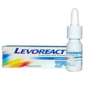 LEVOREACT*SPRAY NAS 10ML 0,5MG