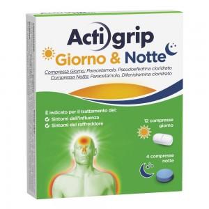 ACTIGRIP GIORNO&NOTTE*12+4CPR