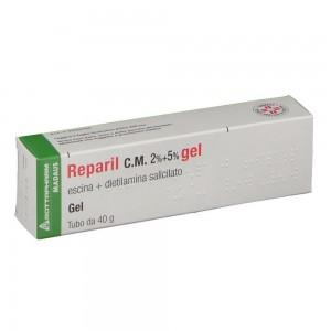 REPARIL GEL CM*40G 2%+5%
