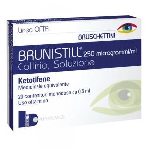 BRUNISTILL*COLL20FL 0,5ML0,025
