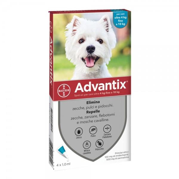 ADVANTIX Spot-On 1x1ml 4-10Kg