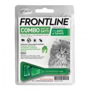 FRONTLINE COMBO*1PIP GATTI/FUR