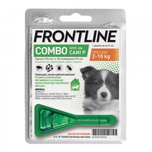 FRONTLINE Combo 1p.Cani 2-10Kg
