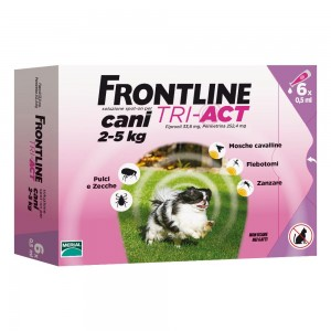 FRONTLINE Tri-Act.6 Pip.0,5ml