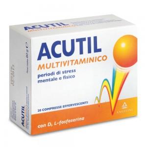 ACUTIL M/VIT.20 Cpr Eff.