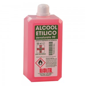 ALCOOL ETIL DENAT 90% 500ML