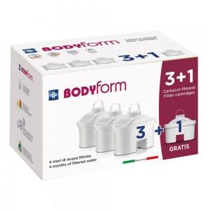 BODYFORM Cart.Filtr.3+1pz F4P