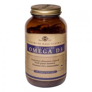 ADVANCED Omega D3 120 Prl SOLG
